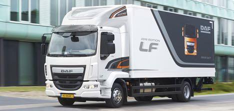 DAF k�rer sin LF-model frem i en 2016-udgave