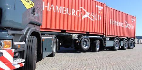 Hollandsk koncept for containertransport er m�ske p� vej til Danmark