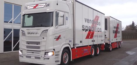 Stiholt leverer Danmarks første Scania S-serie