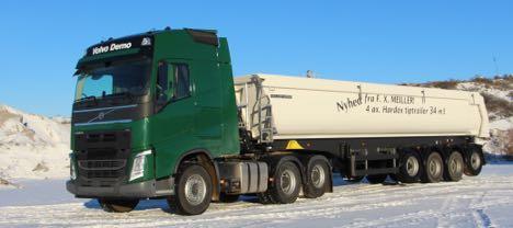 Volvo tandemaksell�ft - N�r kravet b�de er tr�kkraft og komfort