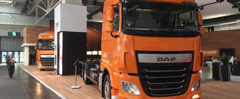 DAF viser sit brede program p� IAA