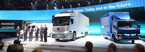 Daimler giver den gas p� IAA
