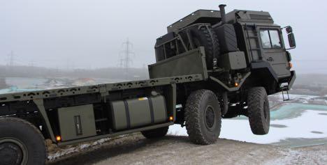 Tysk producent vil levere velkendte militærkøretøjer til Danmark