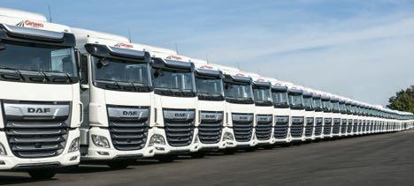 Litauisk transportkoncern får 1.500 lastbiler fra samme leverandør