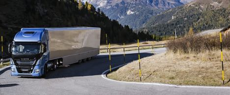 Gasdrevne lastbiler kan køre uden vejskat