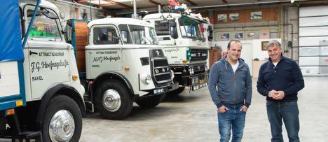 50-årig DAF forlyster sig på de hollandske veje