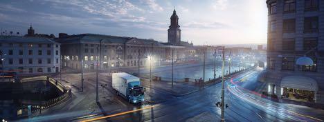 Den svenske distributionsbil er helt elektrisk