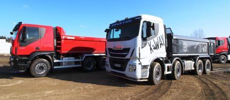 Iveco krydser Stralis med Trakker og får et helt ny lastbilserie