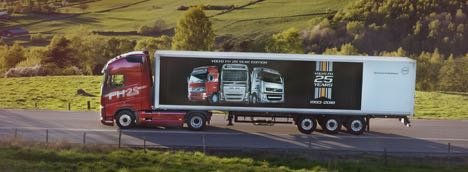 Volvo Trucks fejrer FH-jubilæum med særlige 25-års udgave