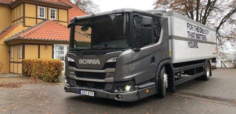 Scania's L-serielastbiler er lette at køre