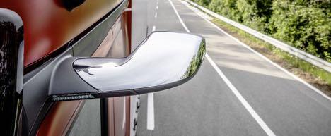 Mercedes-Benz tager Actros med til Danmark uden spejle