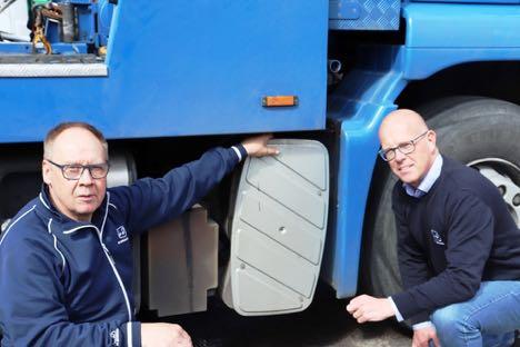 Lastvognsforhandler er klar med nye partikelfiltre til ældre last- og varebiler