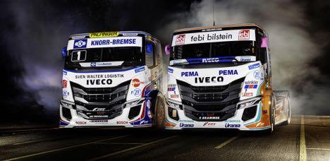 Lastbilproducent præsenterer nye racerlastbiler