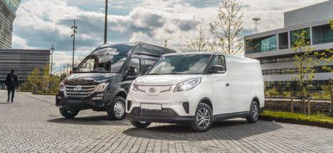 Kinesiske el-varebiler med britiske rødder kommer til Danmark