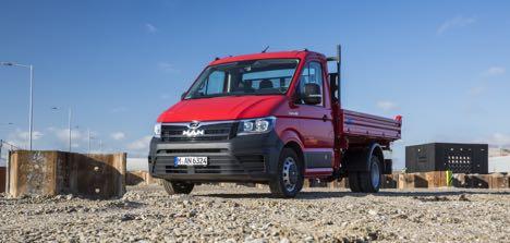 Tysk lastbilproducent udvider sit lette 4x4-program