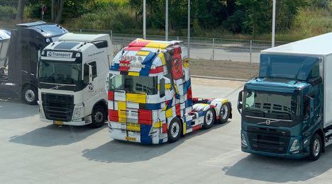 Ny mellemstore lastbil-serie har fået bedre udsyn