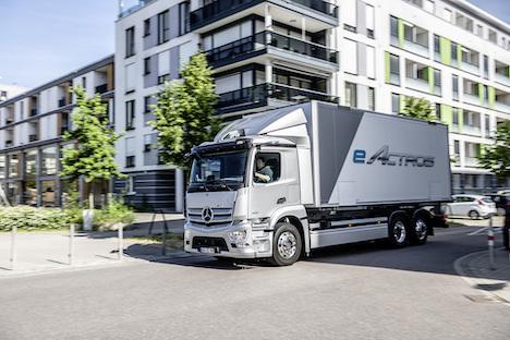 Tysk lastbilproducent er klar til serieproduktion af tung elektrisk lastbil-serie